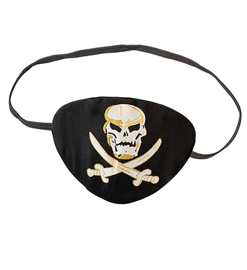 PIRATE EYE-PATCH - DELUXE