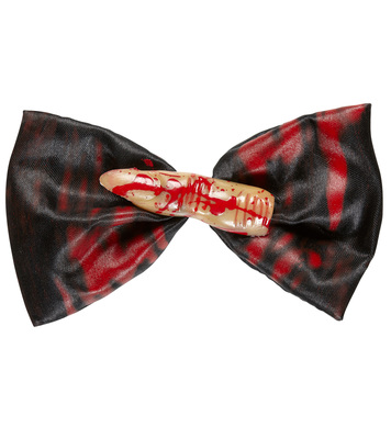 BLOODY FINGER BOW TIE