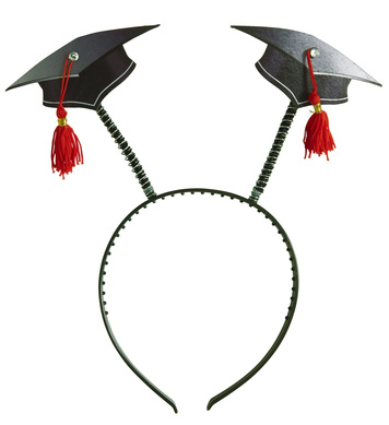GRADUATION HEAD BOPPERS