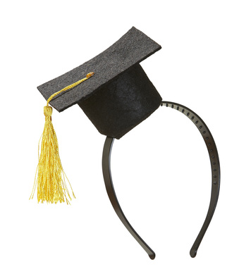 MINI GRADUATION HAT HEADBAND
