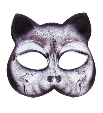 CHINLESS FABRIC MASK - CAT