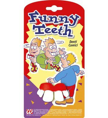 FUNNY TEETH CARDED