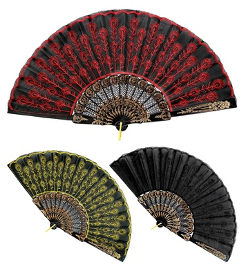 FAN LACE - 3 colours