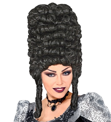 EXTRA TALL GOTHIC WIG in polybag - BLACK