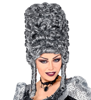 EXTRA TALL GOTHIC WIG in polybag - GREY
