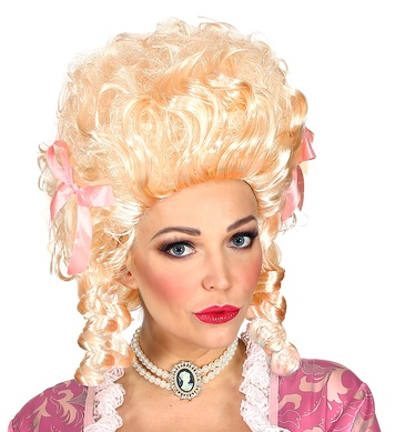 BLONDE COLONIAL WOMAN WIG in box