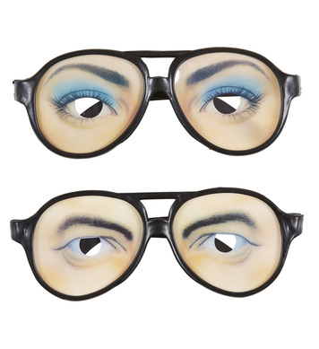 FUNNY GLASSES - woman/man