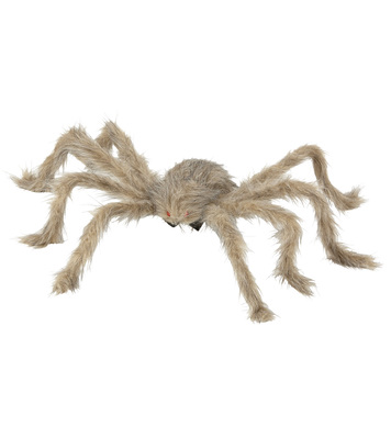 BENDABLE FURRY SPIDER 75 cm