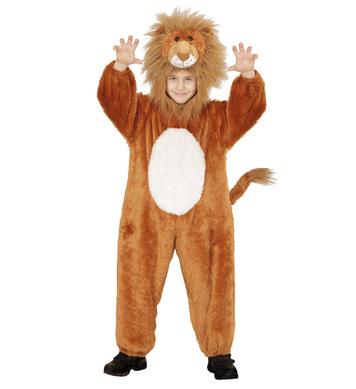PLUSH LION (hooded jumpsuit mask) Childrens