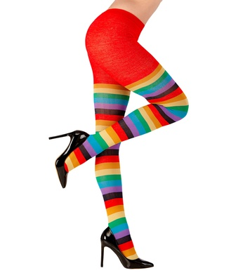RAINBOW SOCKS PANTYHOSE