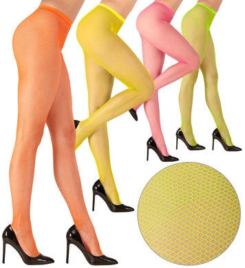PANTYHOSE - FISHNET NEON 4colours