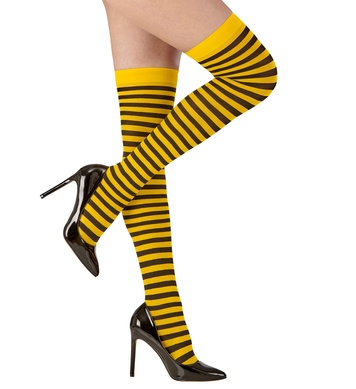 BEE OVER THE KNEE SOCKS 70 DEN