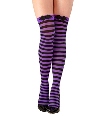 BAT OVER THE KNEE SOCKS 70 DEN