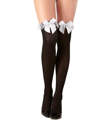 FRENCH MAID THIGH HIGHS 70 DEN