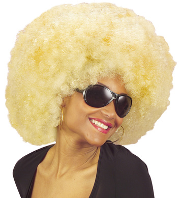 EXTRA CURLY JIMMY WIG - BLONDE