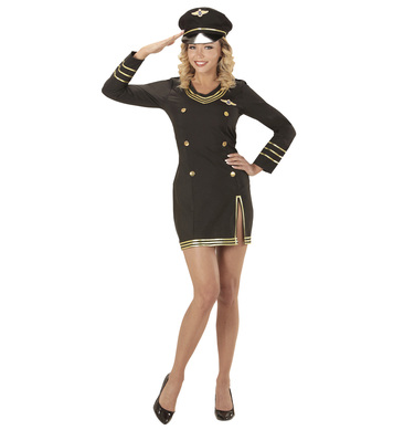 CAPTAIN PILOT (dress, hat)