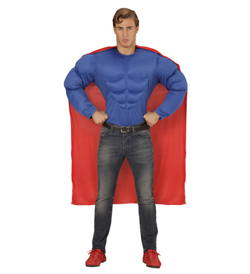 SUPER HERO (muscle shirt cape)