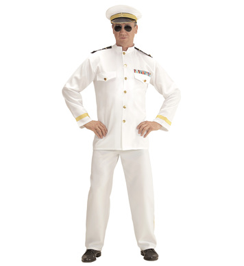 NAVY CAPTAIN (jacket pants hat)