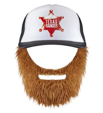 CAP WITH BEARD