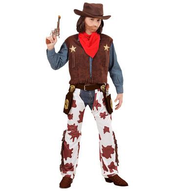 COWBOY (vest chaps hat bandana) Childrens