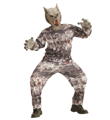 WEREWOLF (coat, pants, mask) Childrens