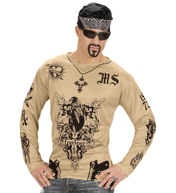 LATINO GANGSTER TATTOO SHIRT