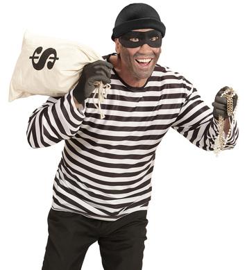 THIEF Shirt, cap and eyemask