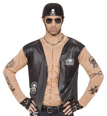 BIKER (shirt with vest)