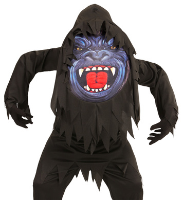 GORILLA BIG HEAD COSTUME Childrens
