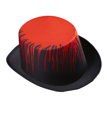 BLOODY TOP HAT - BLACK