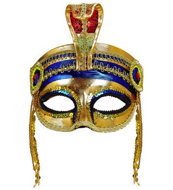 GOLDEN PHARAOH EYEMASK