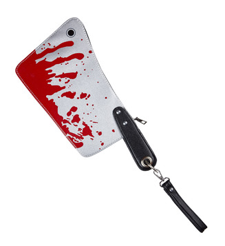 BLOODY CLEAVER PURSE