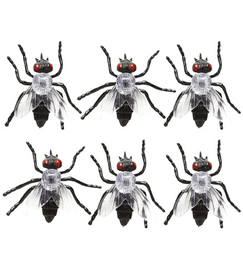 SET OF 6 FLIES