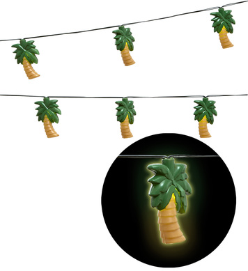 LIGHT CHAIN GARLAND PALM TREES