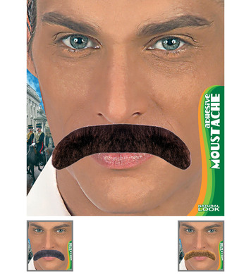ADHESIVE GENTLEMAN TASH - 3 colours