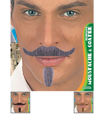 CHEVALIER TASH & GOATEE ADHESIVE - 3 colours