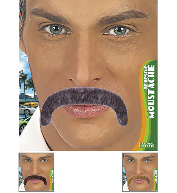 MACHO MOUSTACHE ADHESIVE - 3 colours