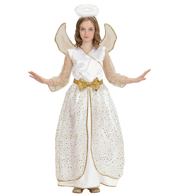 ANGEL Dress, Wings and Halo Childrens