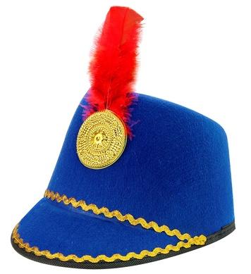 MAJORETTE HAT - CHILD SIZE - BLUE