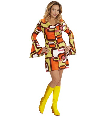 GROOVY 70s LADY DRESS - TUBES