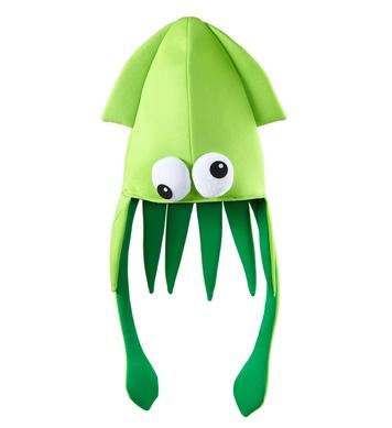 GIANT SQUID HAT - GREEN