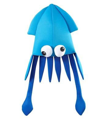 GIANT SQUID HAT - LIGHT BLUE