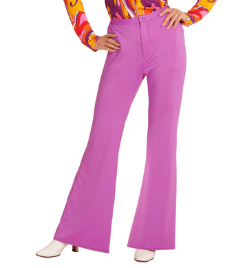 GROOVY 70s LADY PANTS - LILAC