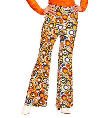 GROOVY 70s LADY PANTS - BUBBLES