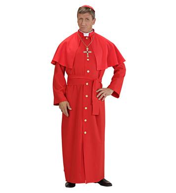 CARDINAL - RED HEAVY FAB (robe tippet belt skullcap)
