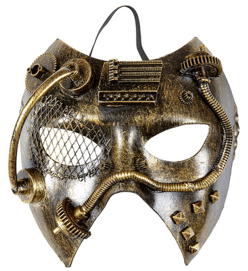 COPPER STEAMPUNK MASK