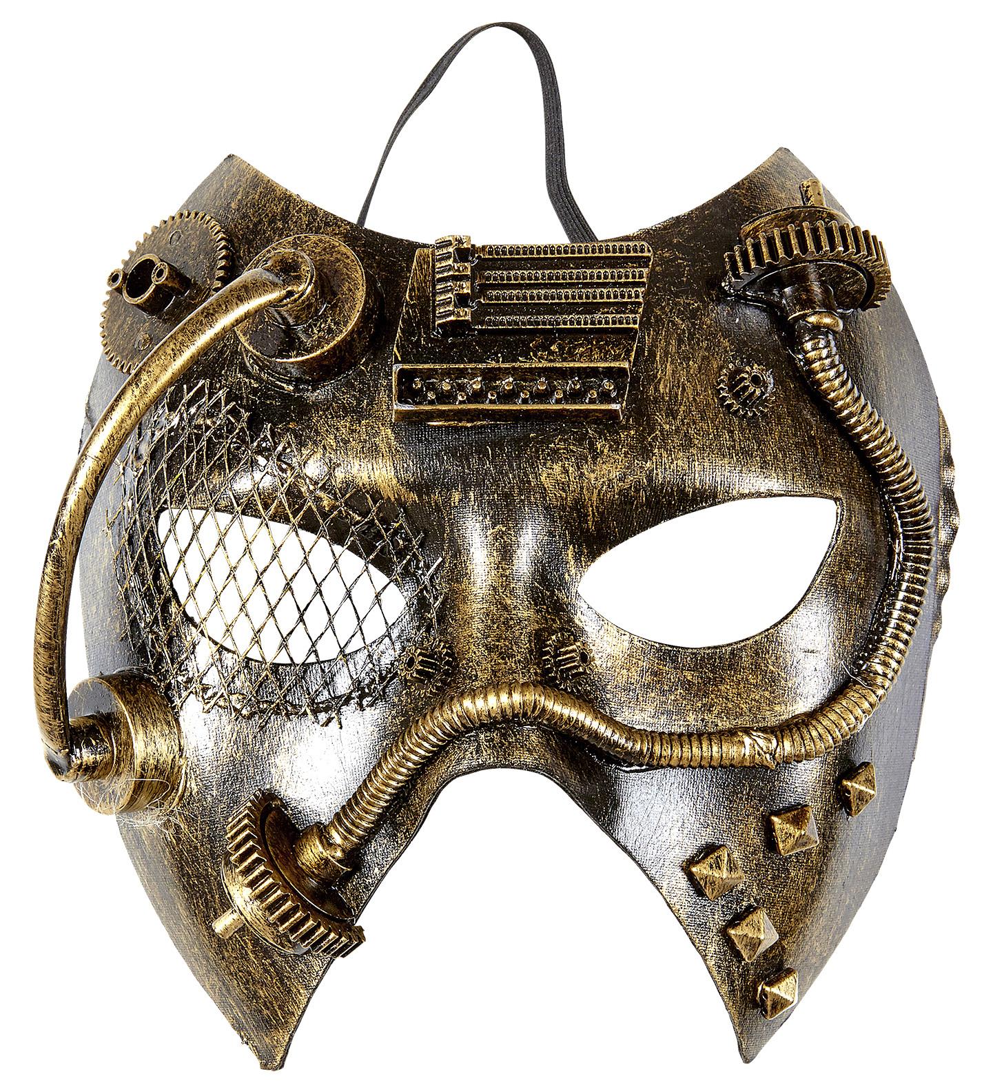 Steampunk Eyemask Fancy Dress