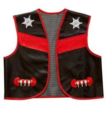 COWBOY - BLACK (vest) Childrens