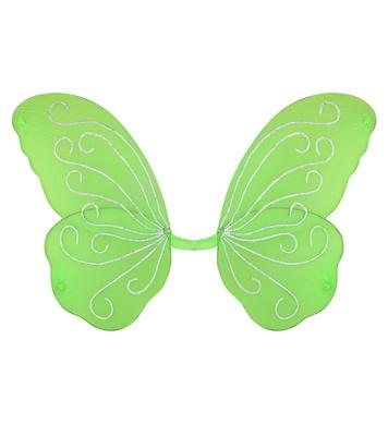 BUTTERFLY GLITTER WINGS - GREEN