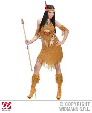 SUEDELOOK INDIAN WOMAN (dress cuffs headband)
